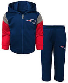 Baby New England Patriots Blocker Fleece Set