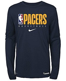 Big Boys Indiana Pacers Practice Long Sleeve T-Shirt