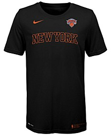 Big Boys New York Knicks Facility T-Shirt
