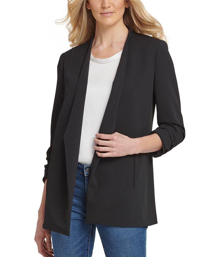 DKNY - Foundation Open-Front Jacket
