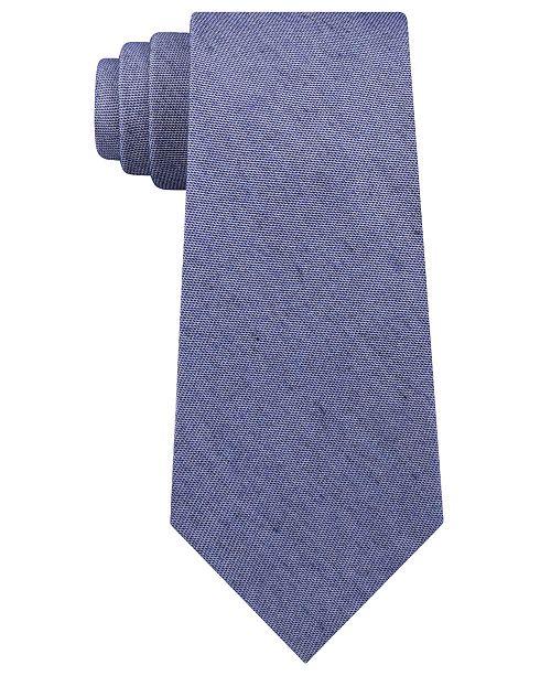 Calvin Klein Men's Denim Solid Slim Tie