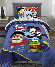 Ryan's World Full 5-Piece Bed in a Bag