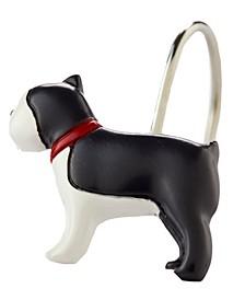 Fa La La Dogs Shower Curtain Hook Set