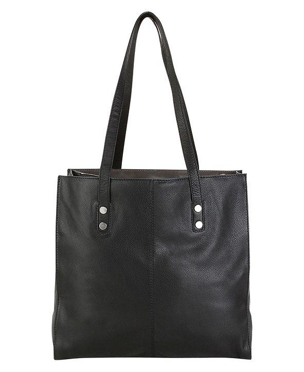 Hadaki Genuine Leather Cafe Du Monde Tote