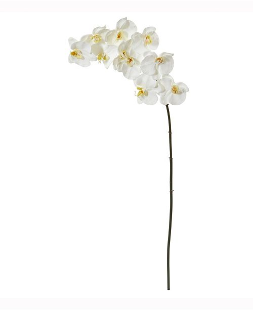 Nearly Natural 44in. Phalaenopsis Orchid Artificial Flower Set of 6