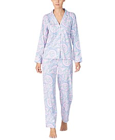 Women's Printed Pajamas Set