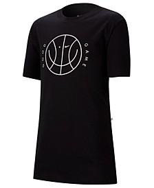 Big Boys Good Game-Print Cotton T-Shirt