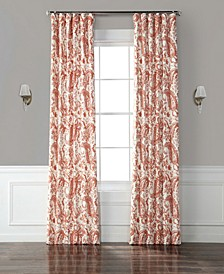 Edina Printed Cotton Curtain Panel