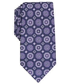 Men's Classic Medallion Silk Tie, Created for Macy's