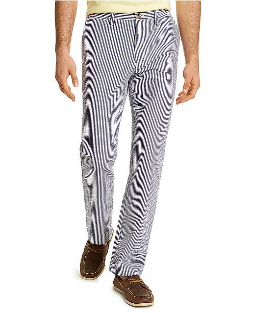 Club Room Men's Seersucker Pants, Created for Macy's