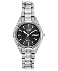 Eco-Drive Women's Corso Stainless Steel Watch 27mm