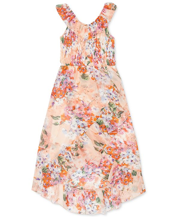 Speechless Big Girls Floral Maxi Dress