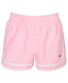 Big Girls Varsity Logo-Print Shorts