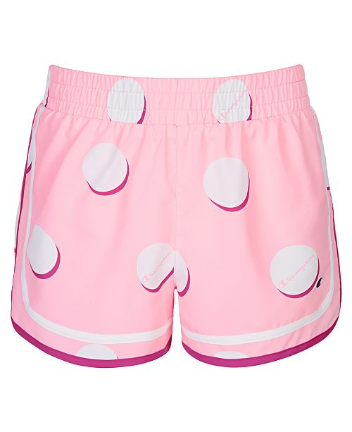 Champion Toddler Girls Varsity Dot-Print Shorts