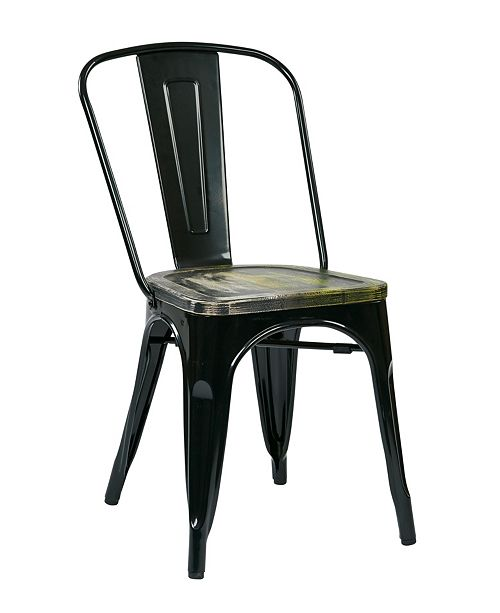 Office Star Bristow Dining Chair (Set of 2)