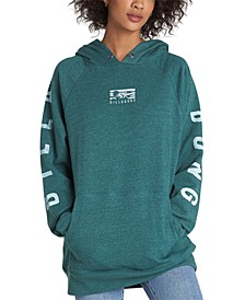 Juniors' Out And Out Graphic-Print Hoodie