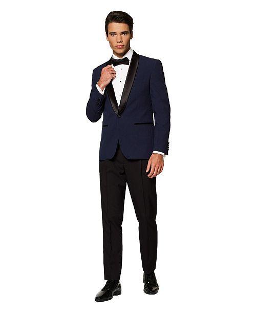 OppoSuits Men's Midnight Blue Festive Tuxedo