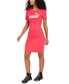 ESS Logo Fitted T-Shirt Dress