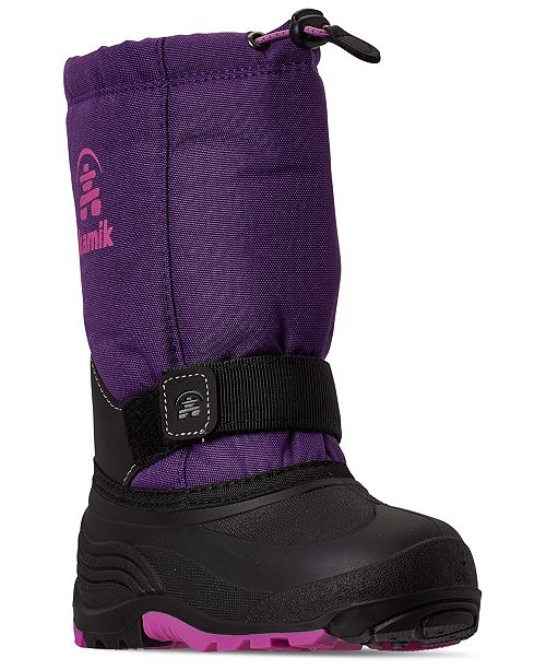 Kamik Little Girls Rocket Winter Boots from Finish Line