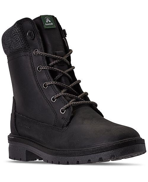 Kamik Women's Rogue Waterproof Winter Boots from Finish Line