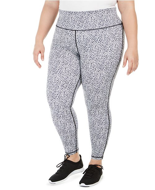 Ideology Plus Size Printed Leggings