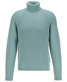BOSS Men's Gilo Virgin-Wool Rollneck Sweater