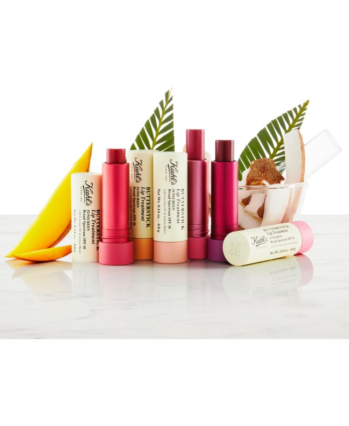 Kiehl's Since 1851 Butterstick Lip Treatment SPF 30, 0.14-oz. & Reviews - Makeup - Beauty - Macy's