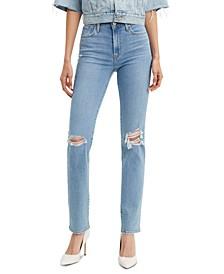 724 High-Rise Straight-Leg Jeans