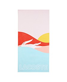 "Warm Sunrise Cotton 36"" X 72"" Beach Towel"