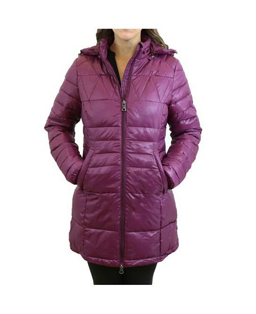 Spire By Galaxy Women's Silhouette Style Puffer Jacket