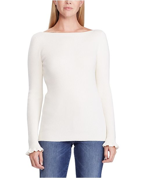 Lauren Ralph Lauren Ribbed Boatneck Sweater