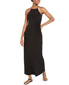 Chain-Link-Strap Maxi Dress