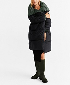 Quilted Reversible Anorak Jacket