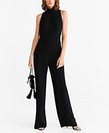 Stand Collar Jumpsuit