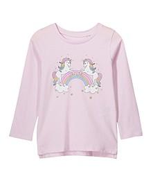Little, Big and Toddler Girl's Penelope Long Sleeve Tee