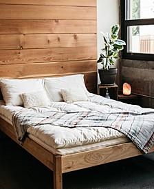Natural Wool Latex Shikibuton Mattress, Full