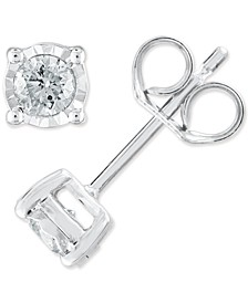 Diamond 1/3 ct. t.w. Earring in Sterling Silver