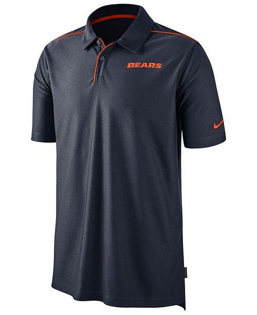 Nike Men's Chicago Bears Team Issue Polo