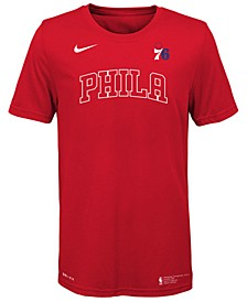 Big Boys Philadelphia 76ers Facility T-Shirt