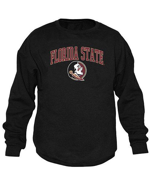 Top of the World Men's Florida State Seminoles Midsize Crew Neck Sweatshirt