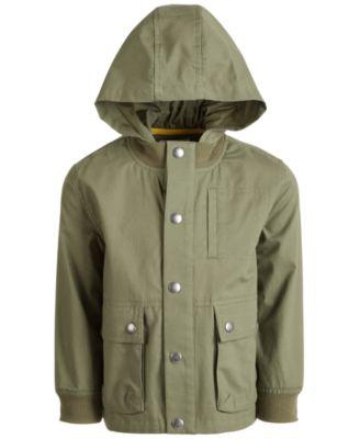 Weather Tamer Toddler//Little Boys Reversible Fleece Jacket