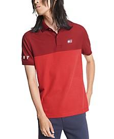 Men's Dani Custom-Fit Colorblocked Polo Shirt