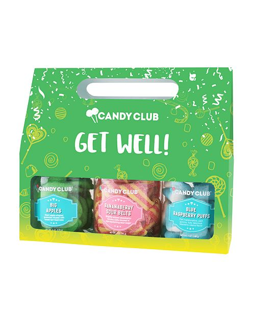 Candy Club Get Well- Giftset