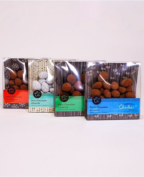 Charles Chocolates Ultimate Chocolate Covered Nut Collection