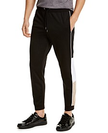 INC Men's Blocked-Side Jogger Pants, Created for Macy's