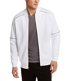 INC Men's Shade Moto Track Jacket, Created for Macy's