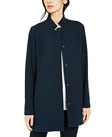 Organic Stand-Collar Jacket, Regular & Petite