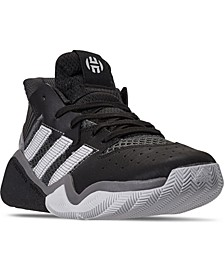 Big Boys Harden Stepback Basketball Sneakers from Finish Line