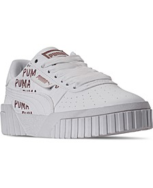 Girls Cali Deboss Casual Sneakers from Finish Line