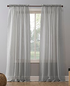 "No. 918 Crushed Voile 51"" x 84"" Sheer Curtain Panel"